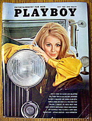Playboy Magazine-may 1969-sally Sheffield