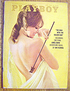 Playboy Magazine-april 1965-sue Williams