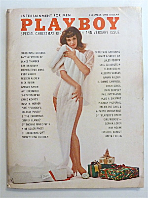 Playboy Magazine-december 1962-june Cochran