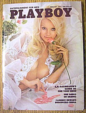Playboy Magazine-February 1974-Francine Parks (Image1)