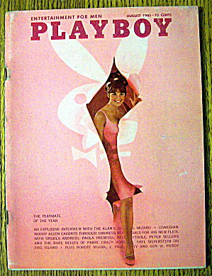Playboy Magazine-august 1965-lannie Balcom