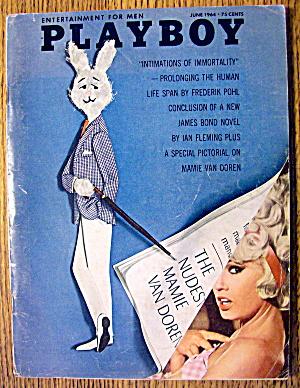 Playboy Magazine-June 1964-Lori Winston/Mamie Van Doren (Image1)