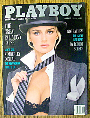 Playboy Magazine-august 1988-helle Michaelsen
