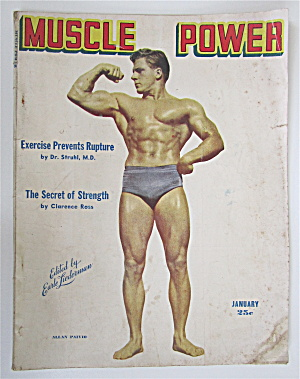 Muscle Power Magazine January 1948 Allan Paivio
