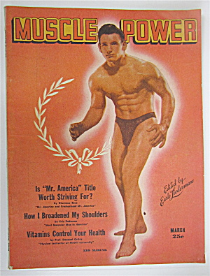 Muscle Power Magazine March 1948 Leo Marcyk