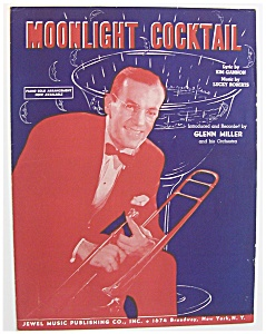 Sheet Music For 1942 Moonlight Cocktail