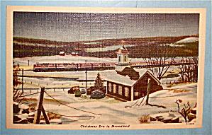 Christmas Eve in Mononland Postcard (Image1)