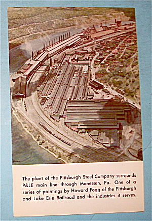 Plant Of Pittsburgh Steel Company Postcard (Image1)