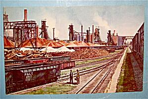 Ohio Works, U. S. Steel Corporation Postcard (Image1)