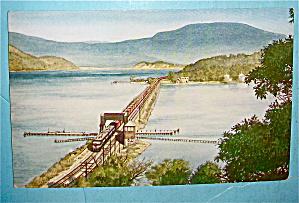 The Early Bird Train Postcard (Train NY-2) (Image1)