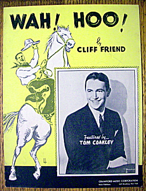 1936 Wah! Hoo! by Cliff Friend (Tom Coakley Cover) (Image1)