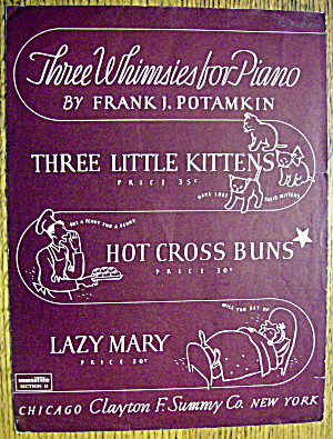 1941 Hot Cross Buns By Frank J. Potamkin