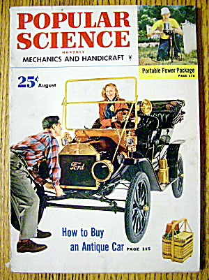 Popular Science-August 1952-How To Buy Antique Car (Image1)