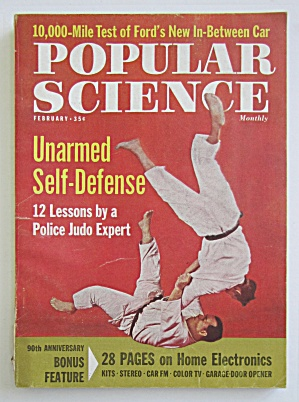 Popular Science-february 1962-unharmed Self Defense