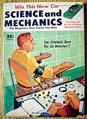 Science & Mechanics-august 1953-criminals & Detectors