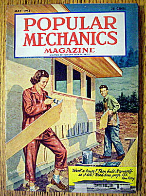 Popular Mechanics-May 1951-Build Your Own House (Image1)