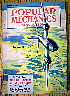 Popular Mechanics-october 1951-air Force Cameras
