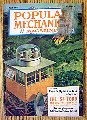 Popular Mechanics-July 1954-The 1954 Ford (Image1)