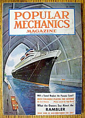 Popular Mechanics-June 1956-Will Tunnel Replace Panama (Image1)