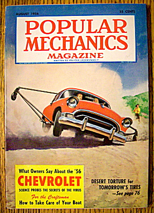 Popular Mechanics-august 1956-how To Take Care Of Boat