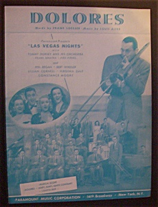 Sheet Music For 1941 Dolores