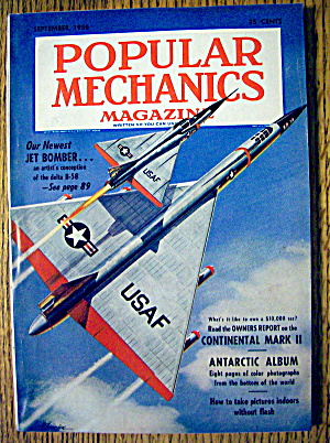 Popular Mechanics-september 1956-jet Bomber