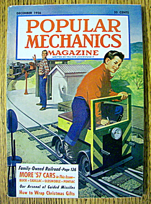 Popular Mechanics-december 1956-how To Wrap Xmas Gifts