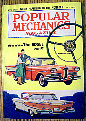 Popular Mechanics-september 1957-the Weather