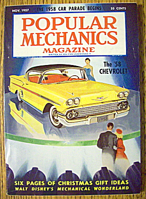 Popular Mechanics-November 1957-Walt Disney Wonderland (Image1)