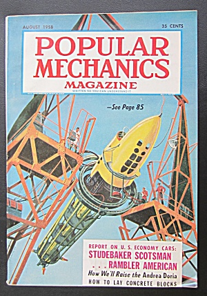 Popular Mechanics-august 1958-how To Raise Andrea Doria