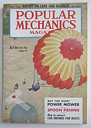 Popular Mechanics-May 1959-Buy The Right Power Mower (Image1)