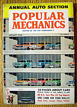 Popular Mechanics-January 1960-50 Pages About Cars (Image1)