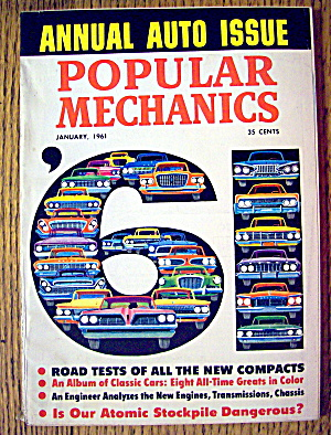 Popular Mechanics-january 1961-road Tests On Compacts