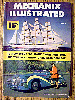 Mechanix Illustrated-March 1950-10 Ways To Make Fortune (Image1)