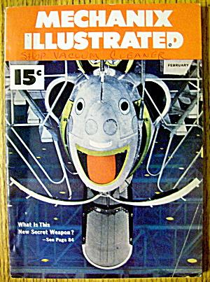 Mechanix Illustrated-February 1951-New Secret Weapon (Image1)