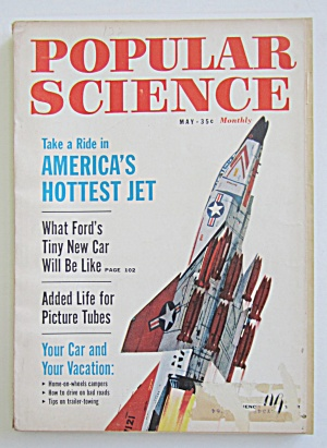 Popular Science-may 1962-america's Hottest Jet