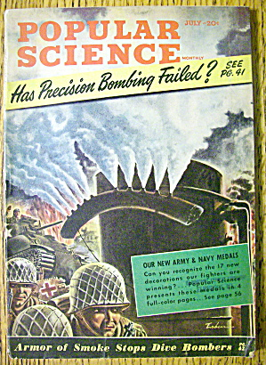 Popular Science-july 1943-has Precision Bombing Failed