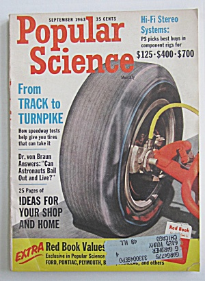 Popular Science September 1963 From Track To Turnpike