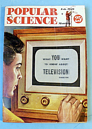 Popular Science-february 1949-television