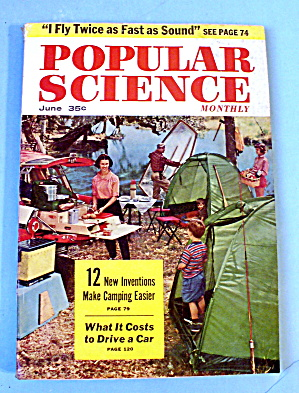 Popular Science-june 1956-what It Costs To Drive A Car