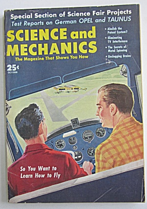 Science & Mechanics October 1959 Learn How To Fly