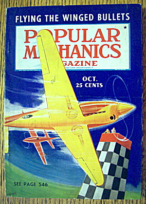 Popular Mechanics-october 1938-flying Winged Bullets