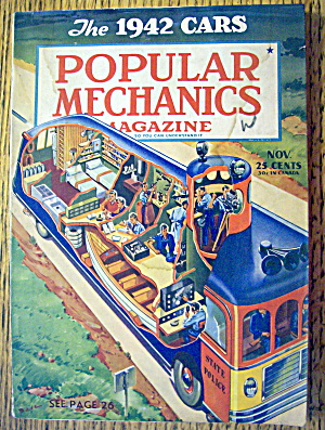 Popular Mechanics-november 1941-1942 Cars