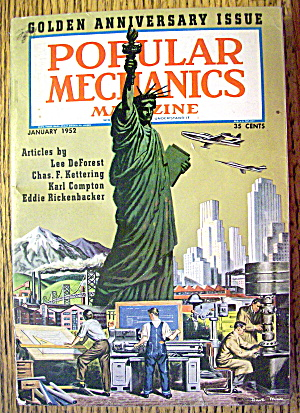 Popular Mechanics-January 1952-Golden Anniversary Issue (Image1)