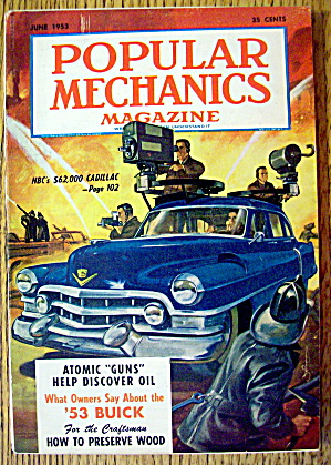 Popular Mechanics-June 1953-NBC's $62,000 Cadillac (Image1)