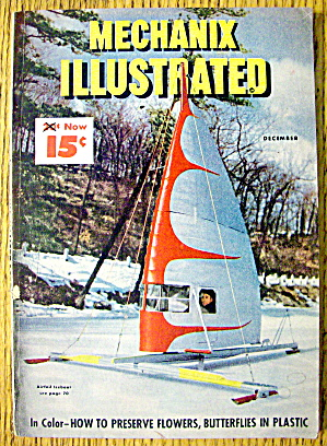 Mechanix Illustrated December 1947 Airfoil Iceboat