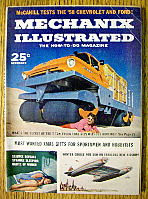 Mechanix Illustrated December 1957 7 Ton Truck