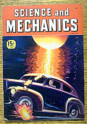 Science And Mechanics Magazine August 1941