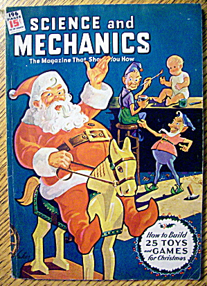 Science & Mechanics December 1944 How To Build 25 Toys