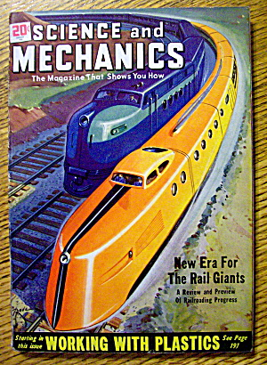 Science & Mechanics August 1948 Working With Plastics